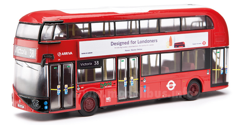 New Bus for London Corgi modellbus info