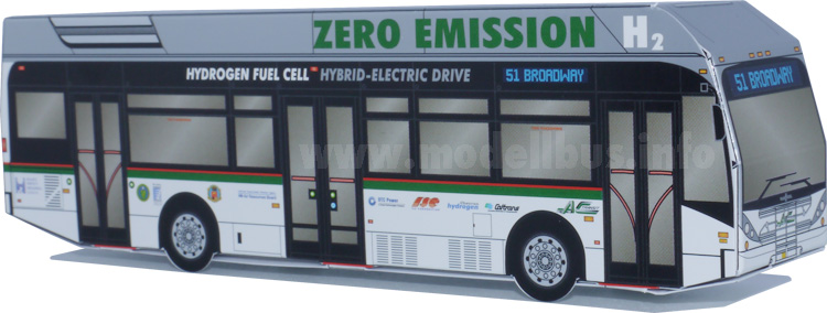 Van Hool A330 FuelCell modellbus info