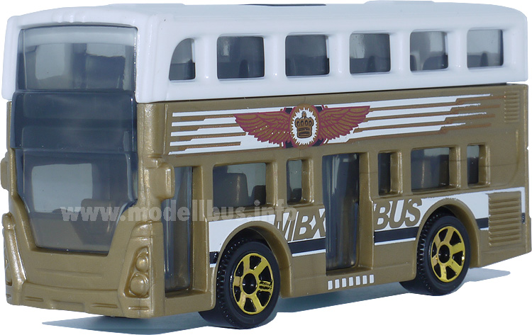 Matchbox MBX Adventure City Bus modellbus.info