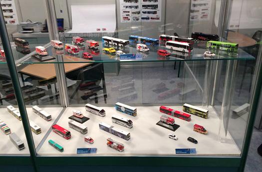 Rietze Spielwarenmesse 2014 modellbus.info