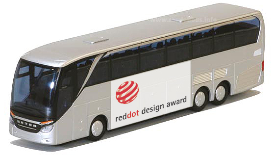 Red Dot Design Award 2014 Setra TopClass 500 - modellbus.info