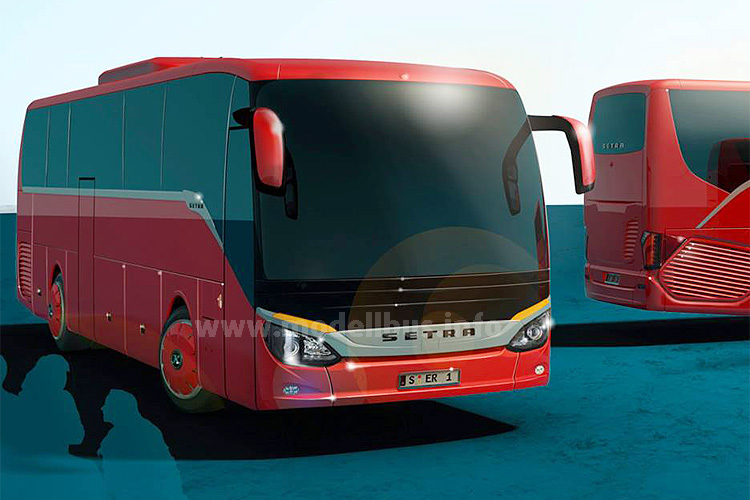 Setra S 515 MD Rendering - modellbus.info