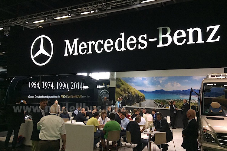 RDA Workshop 2014 Messestand Mercedes-Benz - modellbus.info
