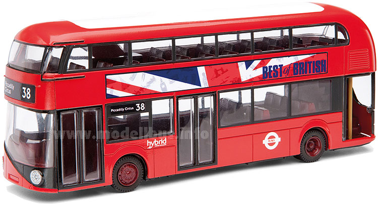 Corgi Best of British New Bus for London - modellbus.info