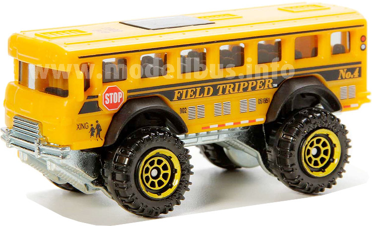Matchbox Bigfoot Schoolbus - modellbus.info