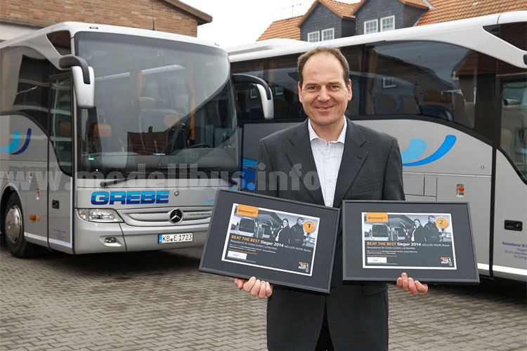 Continental Beat the Best 2014 Sieger Bus Markus Grebe - modellbus.info