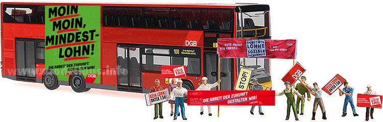 1. Mai 2015 Demonstration Bus - modellbus.info