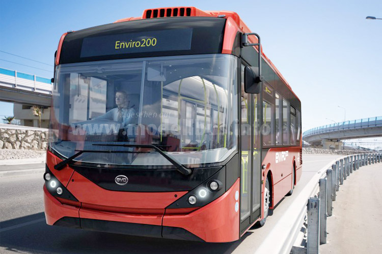 Alexander Dennis Enviro 200 Built Your Dreams London - modellbus.info