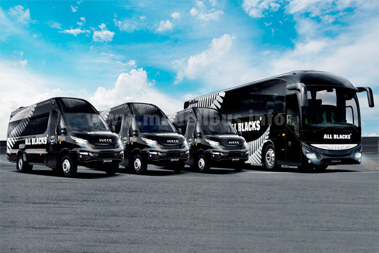 Iveco Magelys und Daily Rugby - modellbus.info