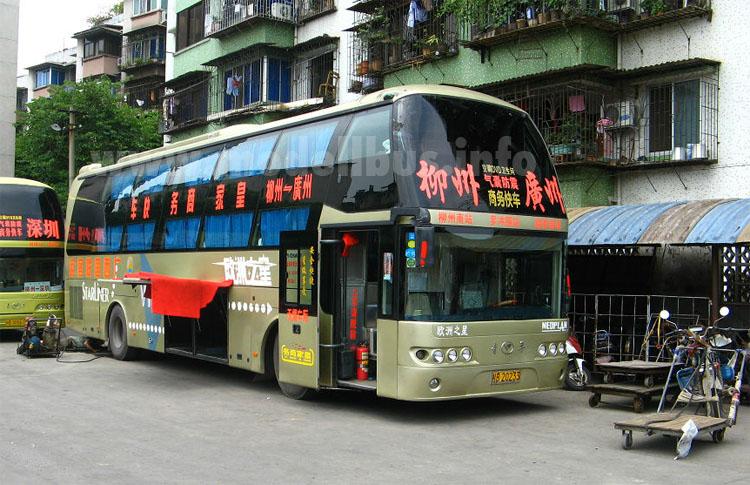 Die Formensprache von Neoplan kommt in China gut an - modellbus.info