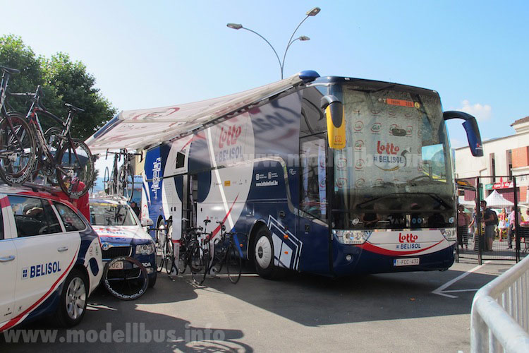 Tour de France 2013 Team Belisol Bus - modellbus.info