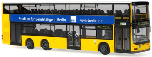 MAN Lions City DD DL05 VWA Berlin modellbus info