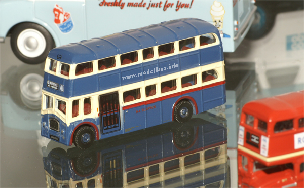 Leyland PD3 Queen Mary Oxford Diecast modellbus info